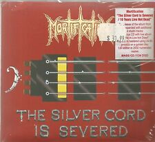 MORTIFICATION - THE SILVER CORD IS SEVERE /10 YEARS LIVE NOT DEAD. / 2CD DIGIPAK