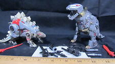 "Lot of 2 Vintage Transformer ""Snarl"" and ""Grimlock"" Dinobots Collectibles"