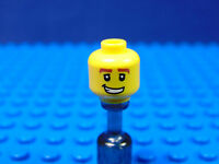 LEGO-MINIFIGURES SERIES 1,2[3] X 1 HEAD FOR THE RACE CAR DRIVER  SERIES 3  PARTS
