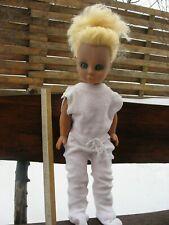 Vintage Nice Plastic Size Doll, Russia/Ussr, 1980 - 1987
