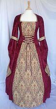 Vestido de boda Vestido Medieval Renacimiento pagano Gótico talla personalizado hecho a