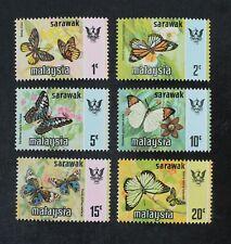 Ckstamps: Gb Stamps Collection Malaysia-Sarawak Scott#242-247 Mint Nh Og