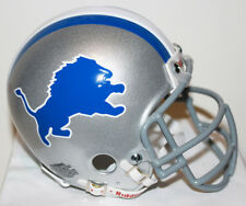 1970 - 83 Detroit Lions Riddell Custom Mini Helmet with Metal Face Mask