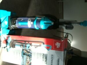 Dirt Devil Power Express Upright Bagless Vacuum, Teal, UD20120, NIB