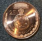 Rare Australian 25 cents Uncirculated Coin - Medal For Gallantry - Collectable