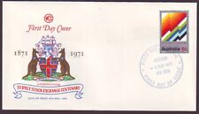 1971 Stock Exchange On Wesley First Day Cover Unaddressed (Ru1223)