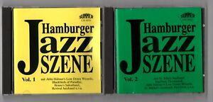Hamburger Jazz Szene Vol. 1 + Vol. 2 - 2 CDs - West Germany early 80's CD Press