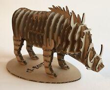 D-Torso Figura 3D Animal Jabalí Juego De Construcción