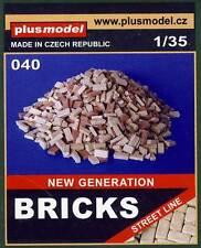 PlusModel Diorama Brick Ziegel Backsteine Ziegelsteine Häuser Scheune 1:35/32/48