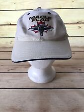 MAPLE FLAG WHITE 4 WING COLD LAKE ONLY THE STRON SURVIVE HAT CAP ADJUSTABLE