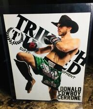 """DONALD CERRONE"" (AUTO/SIGNED!) 8X10 PROMO PHOTO! SIGNED IN PERSON! COWBOY! UFC!"