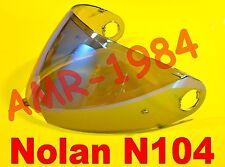 VISIERA ORIGINALE NOLAN N104 BLU METAL SPECCHIATA  NMS-03S da XXS a L