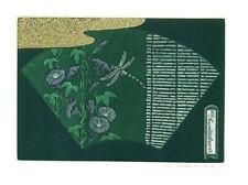 Exlibris Etching Bookmark: Hamanishi