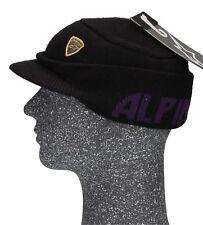 Alpinestars Gothique Bonnet Tricoté Bonnet D'Hiver avec Toit Noir Unisexe