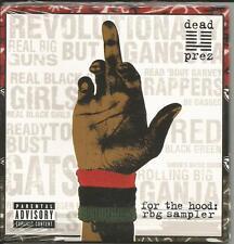 DEAD PREZ For the Hood 5TRX SAMPLER w/ SNIPPETS PROMO CD Single SEALED 2004 USA