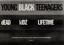 """NEWSPAPER CLIPPING/ADVERT 11/6/94PGN29 7X11"""" YOUNG BLACK TEENAGERS : DEAD ENZ KI"""