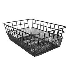 Sunlite Basket Rear Wire/mesh Ractop Black 15x10.25x5