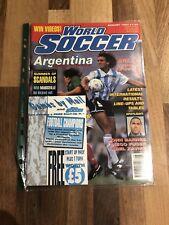 World Soccer Magazine August 1993 - Argentina special