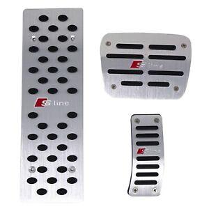 Pedaliera copri pedali S LINE per automobile AUDI con cambio automatico PS8U