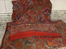 Ralph Lauren Queen Sheet Set Flat & Fitted GALAHAD Aragon Medieval Cotton Sateen