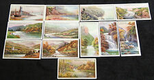 Cigarette Cards John Players and Sons Gems of British Scenery 1917 x 13 Gd-VG f