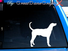 Plott Hound Vinyl Decal Sticker / Color Choice - High Quality