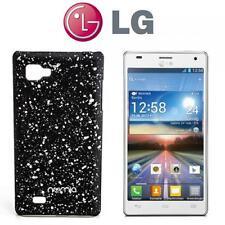 numia 3D Handy Cover Case LG P880 Optimus 4X HD Schwarz-Silber Schutz Hülle Etui