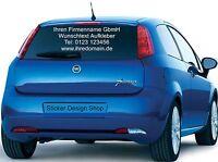 Heckscheiben Beschriftung Wunschtext Aufkleber Autobeschriftung Auto Heckscheibe