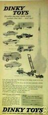 1962 Dinky Cars~Renault~Firefighting~Police~Taxi~Conair~Vintage Diecast Toys AD