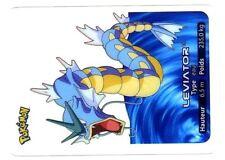 POKEMON LAMINCARDS CARTE CARD 130 LEVIATOR GYARADOS