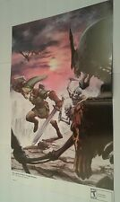 The Legend of Zelda: Twilight Princess 15.5''x11.5'' Double Sided Poster
