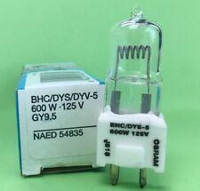 BHC / DYS / DYV 600W 125V GY9.5 Stage Studio LampOSRAM Free Shipping