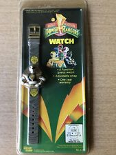 VINTAGE 1993 MIGHTY MORPHIN POWER RANGERS WATCH Rare White Ranger Sealed!
