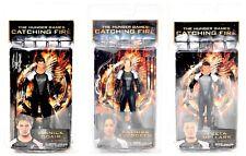 "NECA The Hunger Games Catching Fire 7"" 3 Figure Set Finnick Katniss Peeta!"