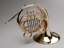 TEMPEST AGILITY WINDS F SINGLE FRENCH HORN BRASS w NICKEL SILVER TRIM w CASE