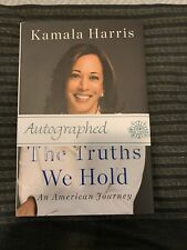 KAMALA HARRIS The Truths We Hold Signed Autograph Book First Edition 1st 2020 VP