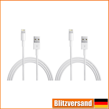 2x LADEKABEL DATENKABEL FÜR APPLE IPHONE 5 6 7 IPAD MINI AIR PRO LIGHTNING USB