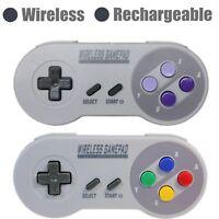 Wireless Mini Classic Edition SNES Controller Console Gamepad for Super Nintendo