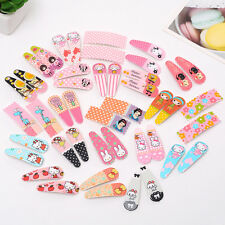 8pcs assorted for kids Girl Baby Hairpin Hair Clips cartoon U PICK