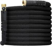 50FT Expandable Garden Hose - Super Strong 3750D Fabric - 4-Layers Flex Strong