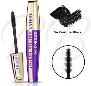 L'OREAL Paris Volume Million Lashes Volumising Mascara - So Couture Black *NEW*