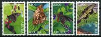 Aruba Butterflies Stamps 2020 MNH Butterfly Insects Fauna 4v Set