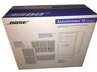BRAND NEW! Bose Acoustimass 10 Series V Home Theater Speaker System, BLACK