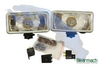 Land Rover Range Rover Classic Front Auxiliary Lamp Kit inc Relays