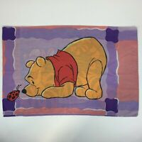 Vintage Winnie the Pooh and Tigger Double Sided Standard Pillowcase Made in USA