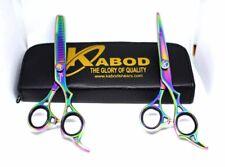 "Professional Salon Hair Cutting+Thinning Scissors Barber Hairdressing Shears 7"""