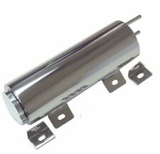 "Radiator Overflow Tank Universal 3"" x 9"" Polished Stainless Steel FREE SHIPPING"