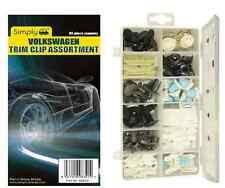 Semplicemente Brand VOLKSWAGEN AUTO DOOR TRIM Clip Viti di collegamento ASSORTIMENTO KIT Pack