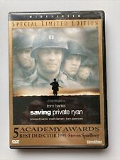Saving Private Ryan Dvd 1999 Special Limited Ed. Widescreen Tom Hanks Matt Damon
