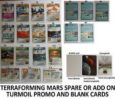 Terraforming Mars Turmoil Kickstarter pack Spare Replacement exclusive NEW